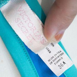 Victoria's Secret Swim - ✨Victoria's Secret   Blue Padded Halter Bikini Top